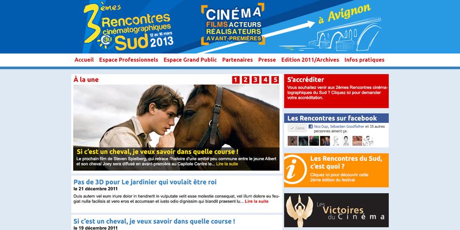 rencontres du cinema du sud avignon
